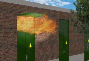 Explosion panels