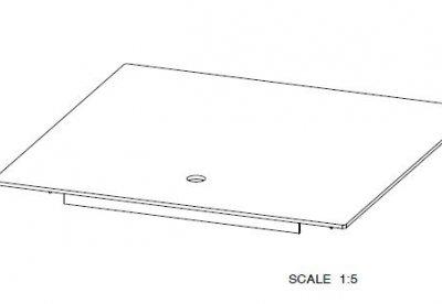 Floor hatch sparing 500x500