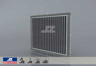 HS-50 fire resistant build-up louver
