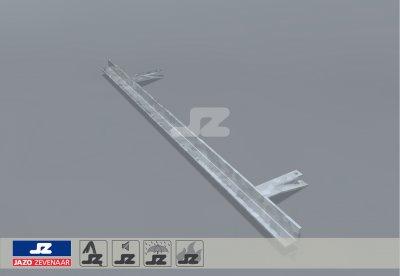 Mounting rail lxb 700x25