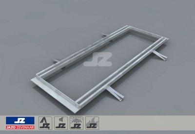 Mounting rail lxb 900x362