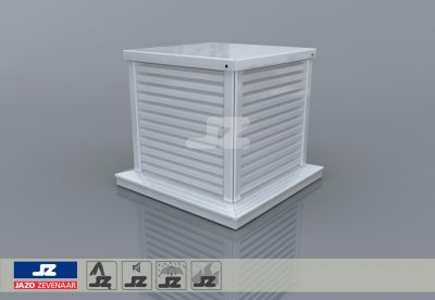 Type D400 safety ventilation roof turret