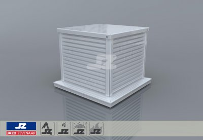 Type D500 safety ventilation roof turret