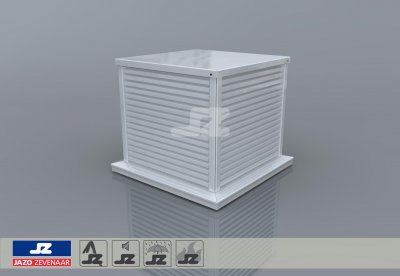 Type D600 safety ventilation roof turret