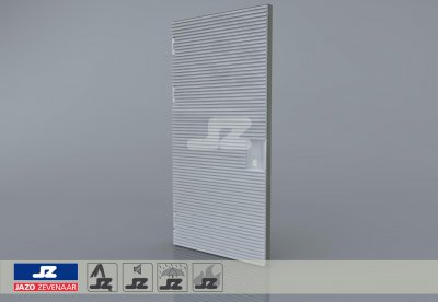 Type P aluminum door 1256x2570 up to 250 kVA L
