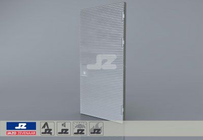 Type P aluminum door 1256x2570 up to 250 kVA R