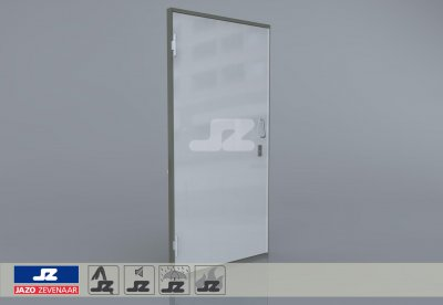 Type P aluminum door purchasing station Left