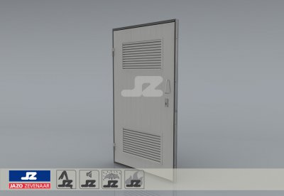 Type P door louvers HS-27