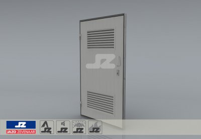 Type P door louvers HS-42