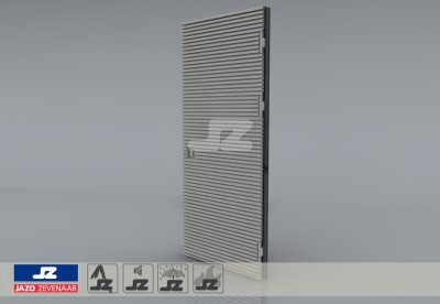 Type P mounting louver HS-27