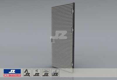 Type P mounting louver HS-42