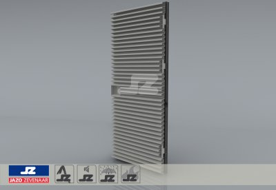 Type P mounting louver HS-50