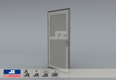 Type P louver door HS-27