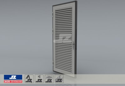 Type P louver door HS-50