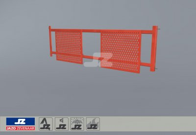 Safety fence 2700