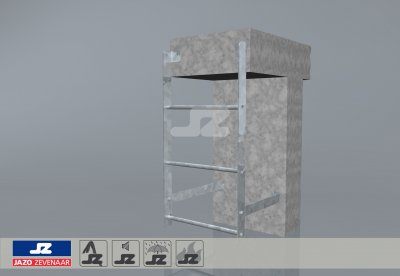 Safety staircase 475x950